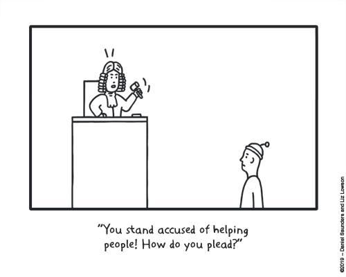 cartoon article 3 helping